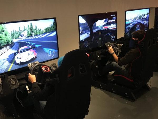 simulateurs course dynamique
